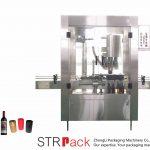 Machine de sertissage automatique à 4 têtes en aluminium