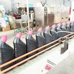 Machine de remplissage liquide anti-corrosive de décapant automatique de toilette