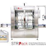 Machine de remplissage liquide par gravité automatique