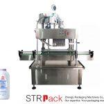 Machine de capsulage linéaire automatique (bouchon de presse)