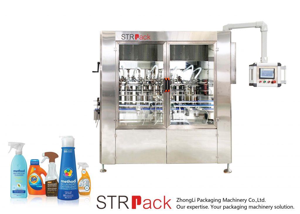 Machine de remplissage de pâte servo automatique