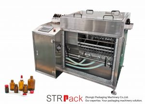 Machine de rinçage de bouteilles