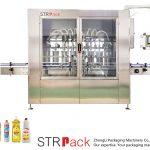 Machine de remplissage liquide à piston automatique
