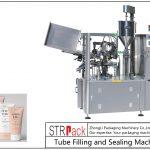 Remplisseuse et scelleuse de tubes en plastique SFS-100