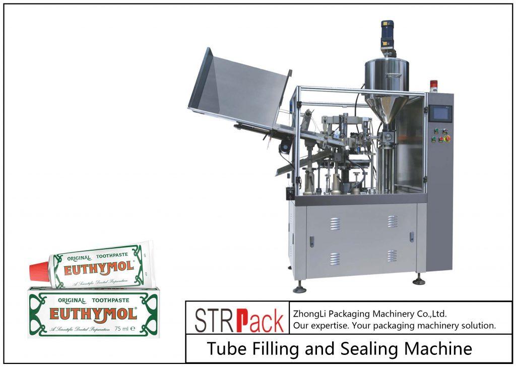 Remplisseuse et scelleuse de tubes métalliques SFS-60Z