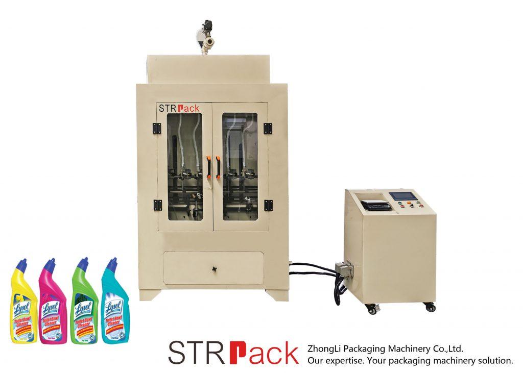 Machine de remplissage liquide de nettoyant pour toilettes